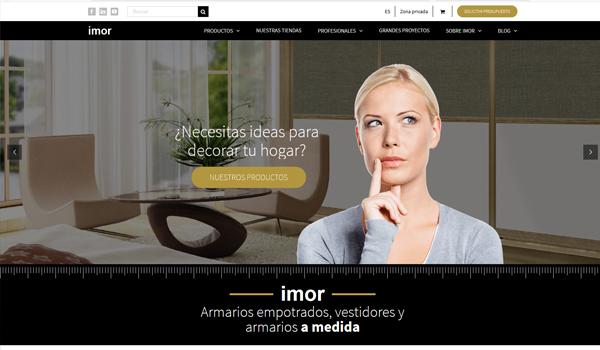 Nueva Web imor