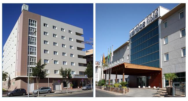 Hoteles Vértice y Vinci