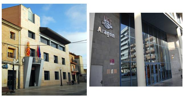 Ayuntamiento Zuera y UGT Zaragoza